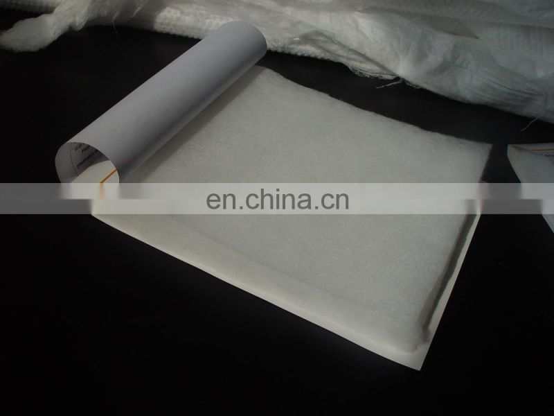 Meltblown PP sound absorbing material for car