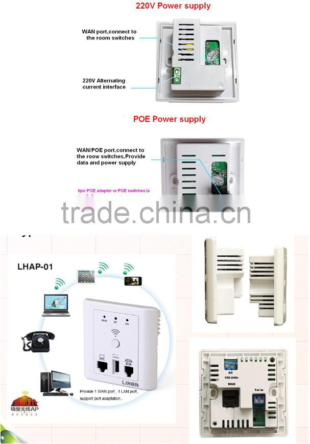 Wall Embedded Wireless router Electrical socket USB AP Wireless Wifi Repeater