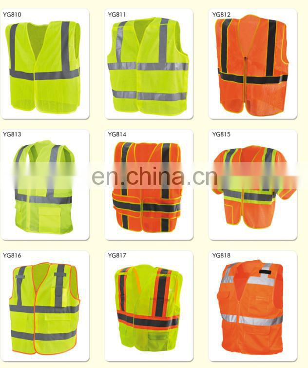 High Quality LED Safety Vest with 16 LED lights