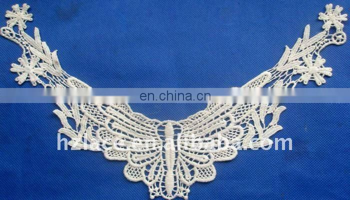 Neck lace trim for clothing