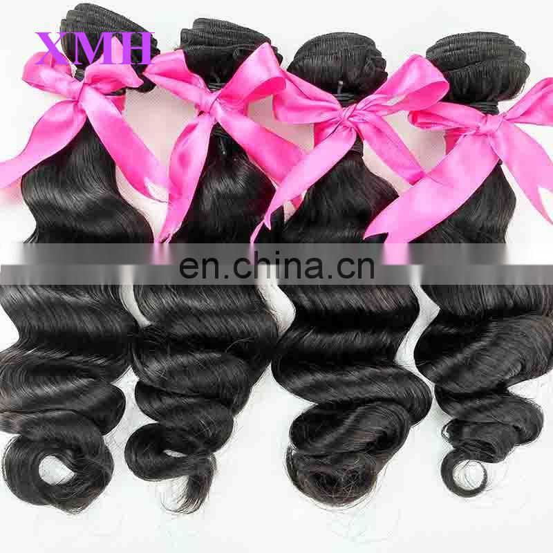 No Shedding And Healthy Wholesale Price Loose Wave Virgin Brazilian Human Hair Extension