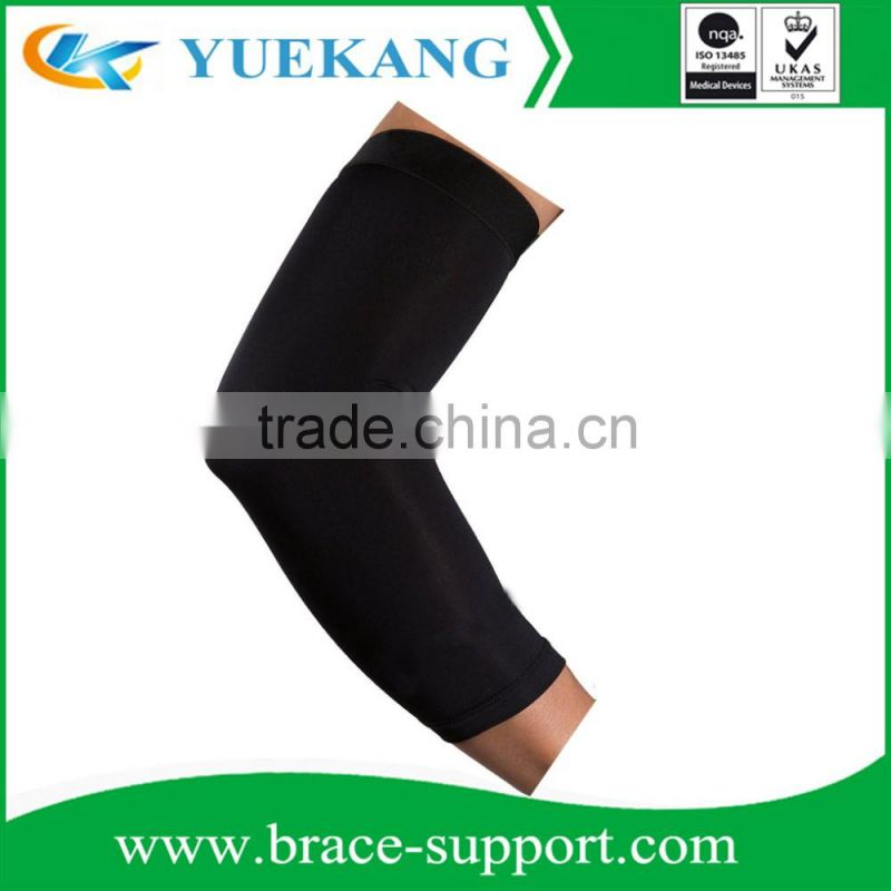 Copper Elbow Sleeve -The Best Compression Arm Sleeve - Great for Tennis, Weightlifting, Golf, Baseball, & Basketball