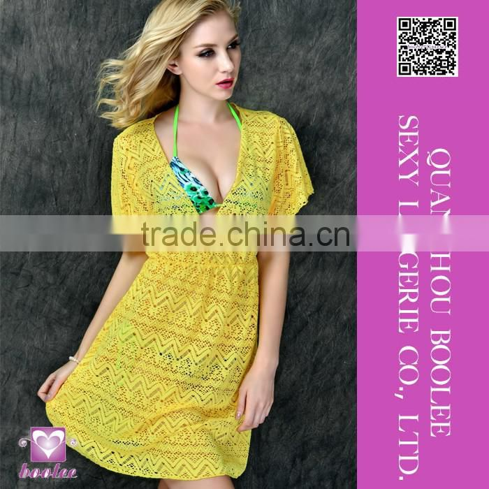 New design sexy beach dress for woman