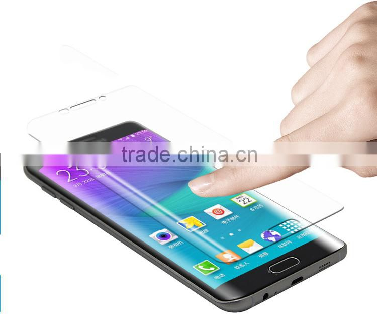 2015 new arrival Full screen s6 edge plus tempered glass screen protector