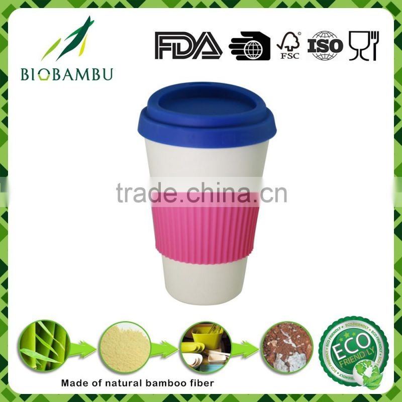No pollution Practical Environmental bamboo coffee cup mug