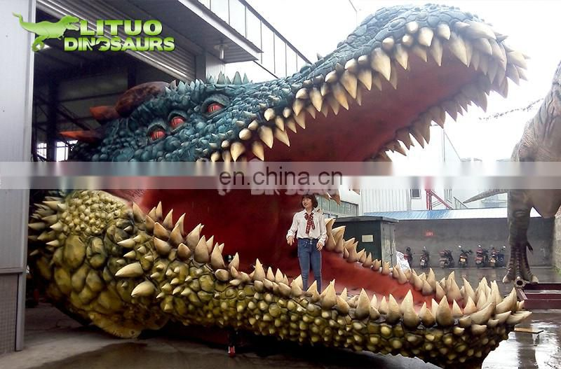 Remote Control Giant Size Moving Animal Crocodile