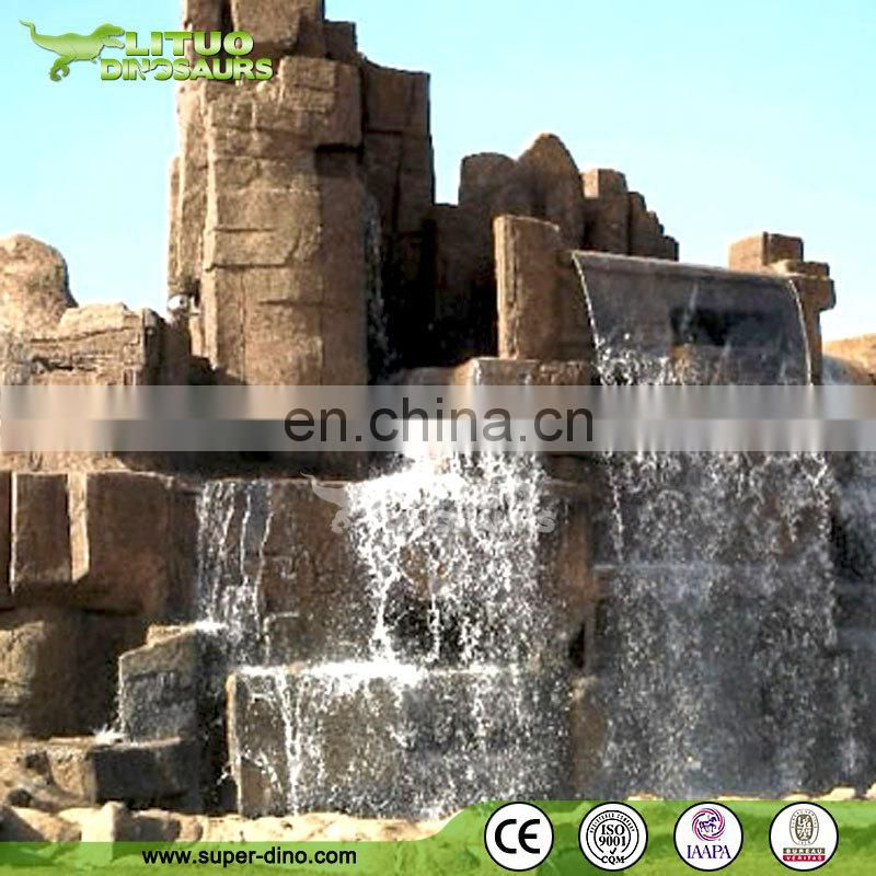 Customization Artificial Rock Waterfall for Sale