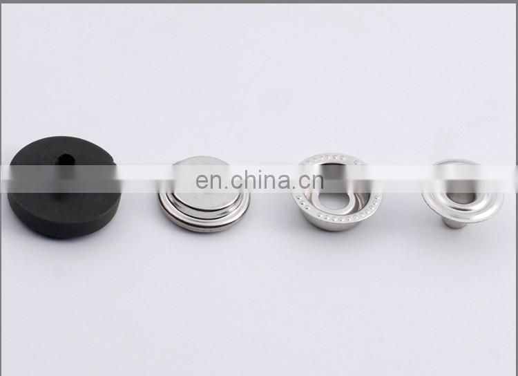 Custom Logo Nylon Cap Snap Buttons BM10807