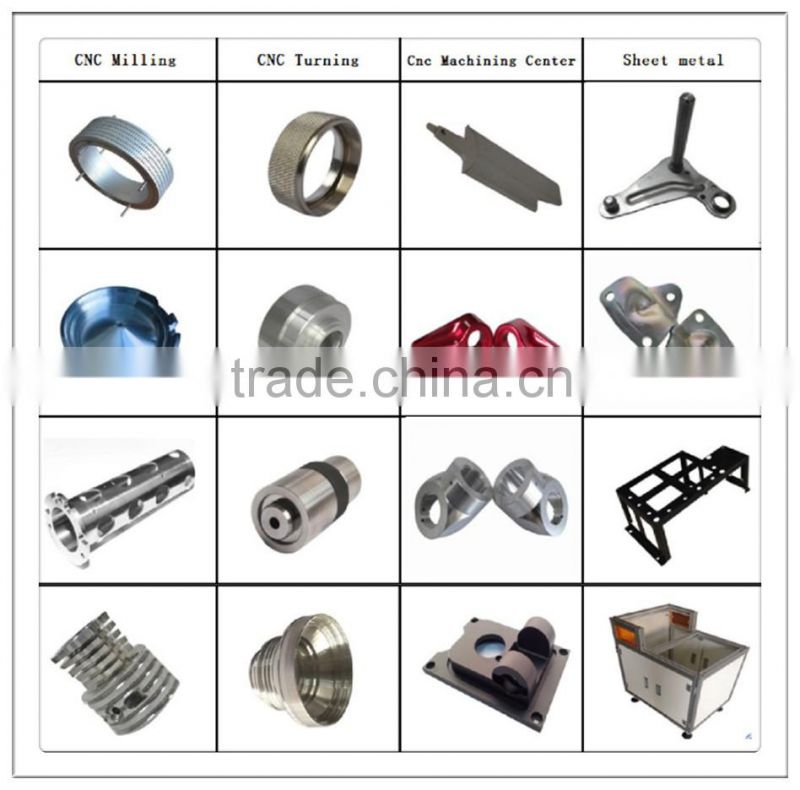 stainless steel spare part cnc machine parts