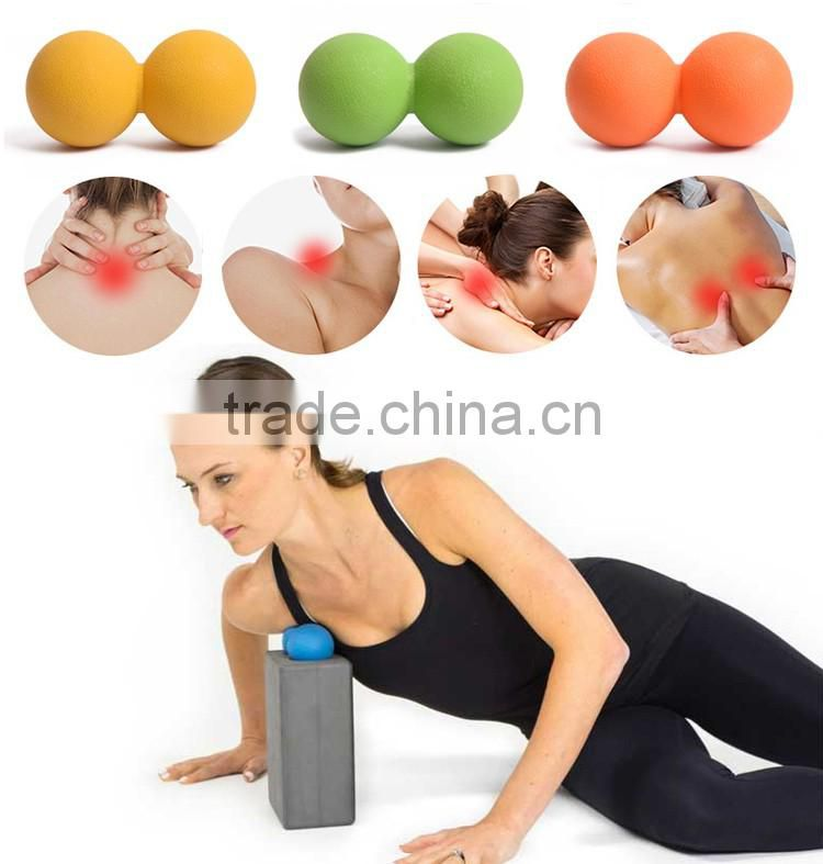 China Factory Peanut Massage Ball For Thoracic Spine