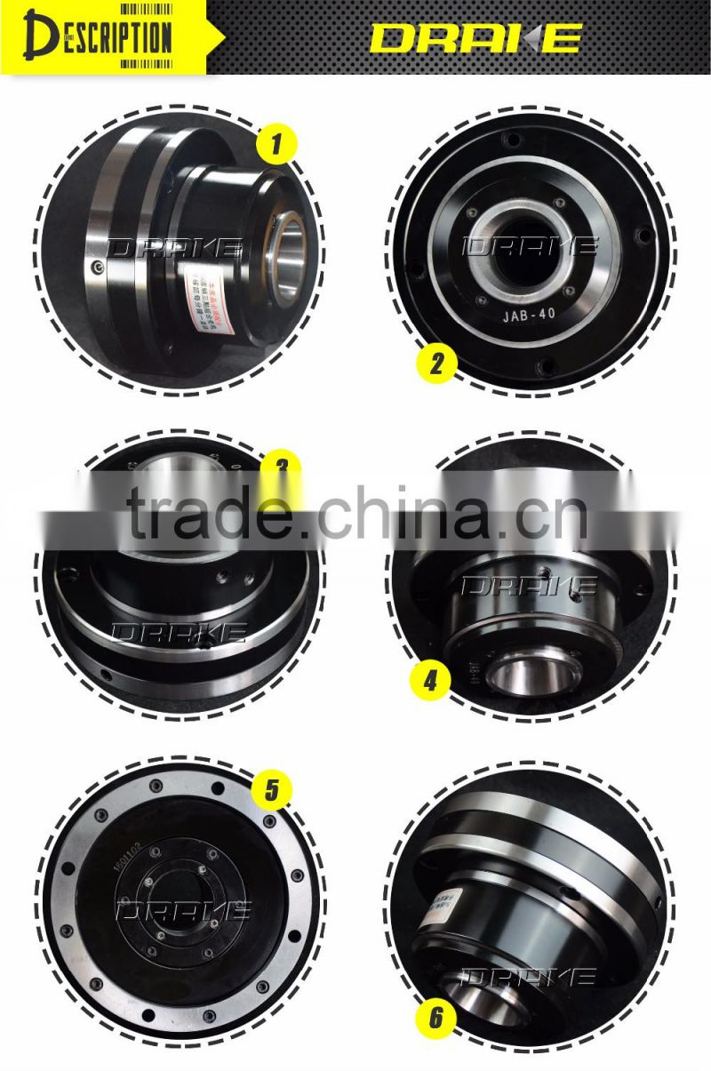 JAB high speed built-in cylinder Pneumatic power collet type lathe collet chuck for cnc lathe