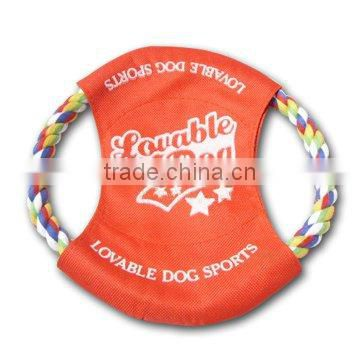 Ruff Sports Sport Flyers/pet product/ Rope Dog Toy