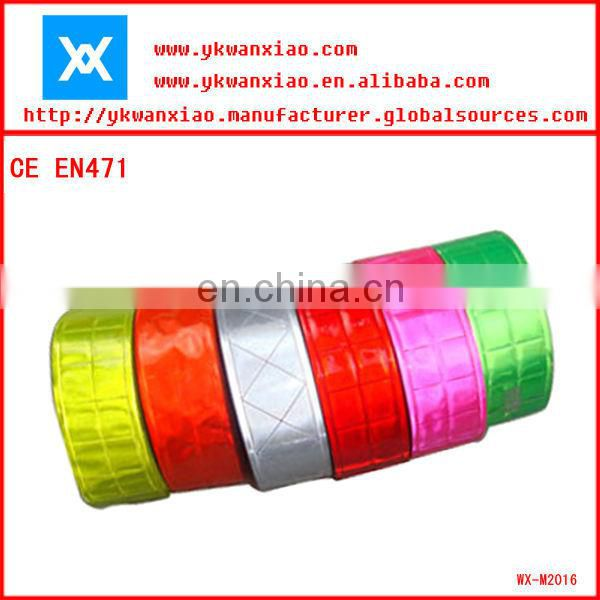 reflective self adhesive tape for car/shoes/gags/gloves/clothing
