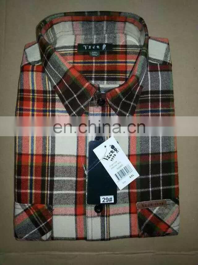 Plaid casual shirts