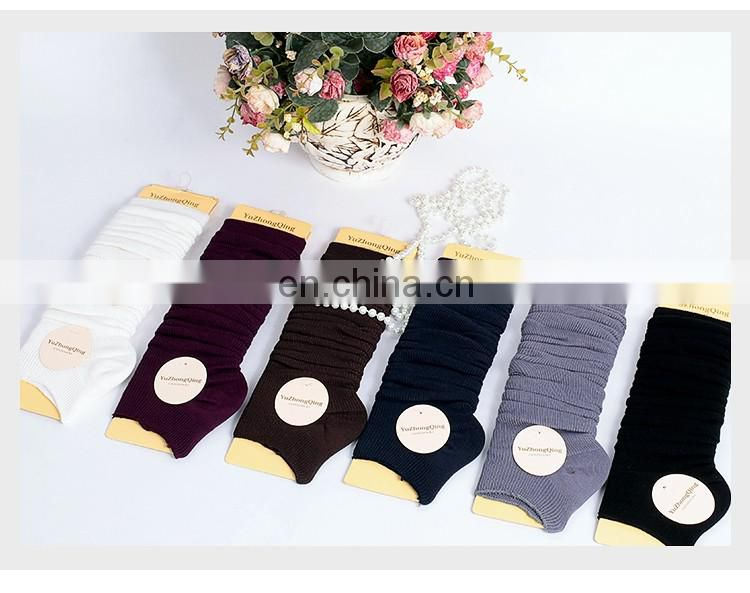 Wholesale multy color winter wram belly dance practice leg socks accessory