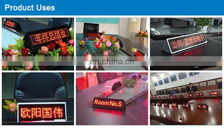 Shenzhen factory hot sale for conference usage wireless led display board
