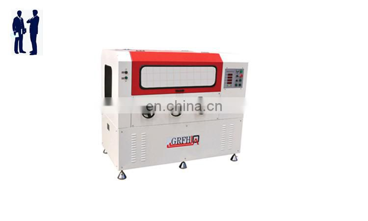 Thermal insulation aluminum profile common pvc window welder with good after sale service