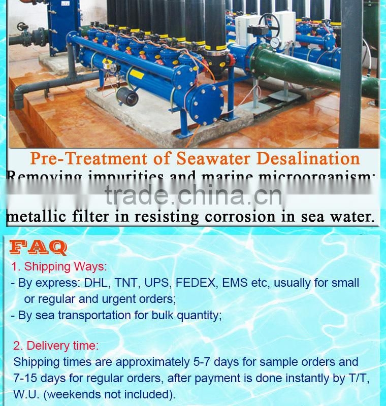 Changzhou Continuous Flow diatom filter for Drink water
