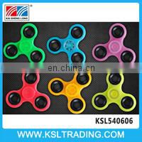 Hot items plastic anti stress toys finger spinner wholesale