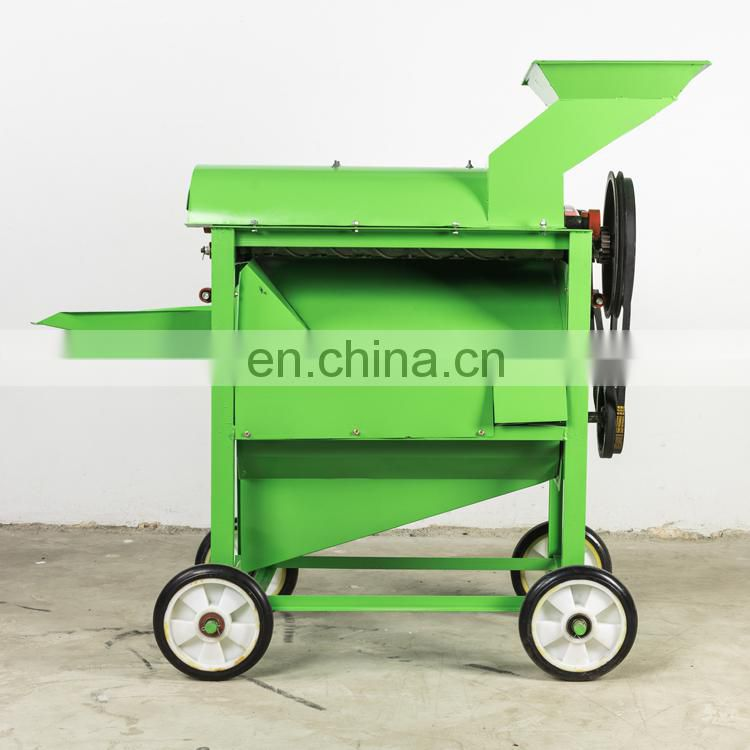 Diesel small farm Corn tearing skin thresher China offer corn shelling machine