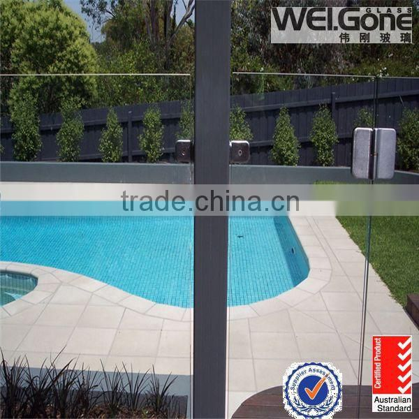 Australian standard glass shower doors