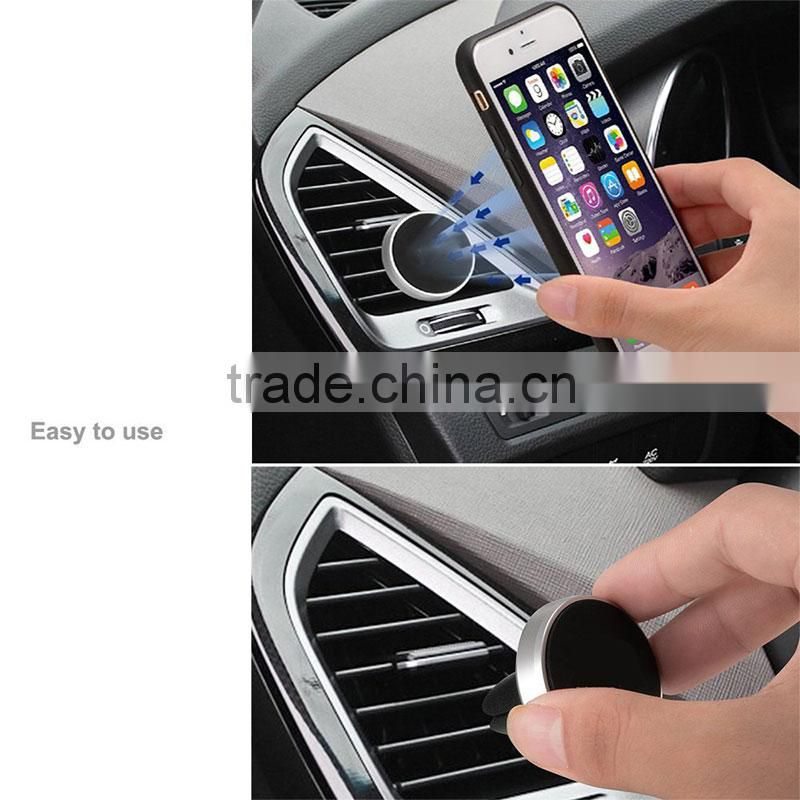 veister Magnetic cell phone car mount, car mobile holder, magnetic car mount automotive fan outlet