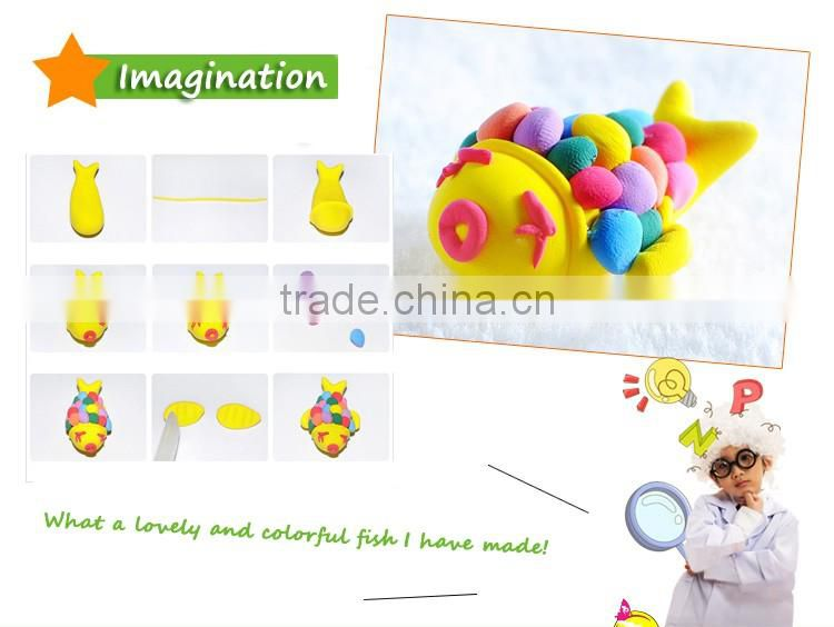 Wholesale Kids Educational Toys Play doh Soft Polymer Clay For Kids