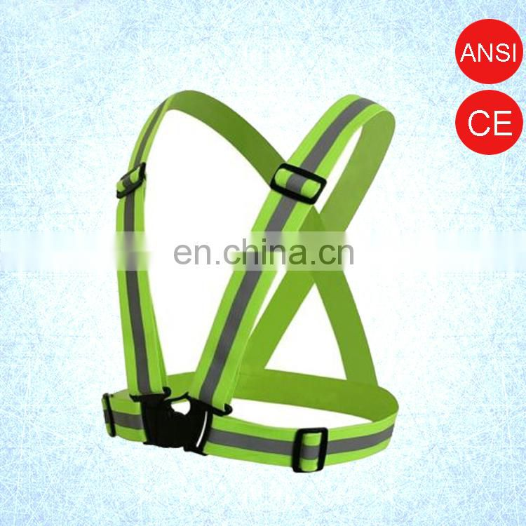 hi vis safety belt running stuff motorcycle clothing