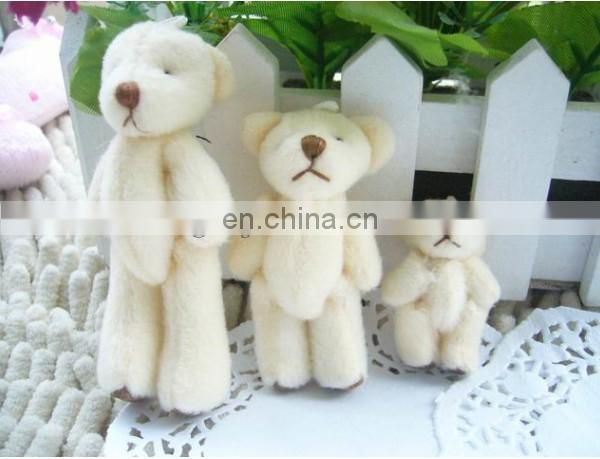 Best selling cute stuffed soft plush bear keychain toy