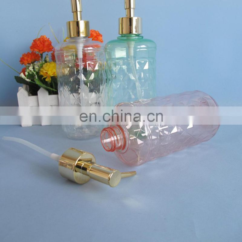 Crystal clear 500ml pet plastic trigger spray bottle