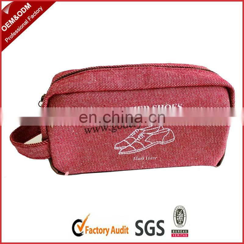 Stylish zipper school pencil bag with stationery