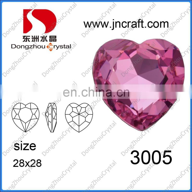 Crystal Glass Jewelry Stones AB Drop Shape For Jewelry Making