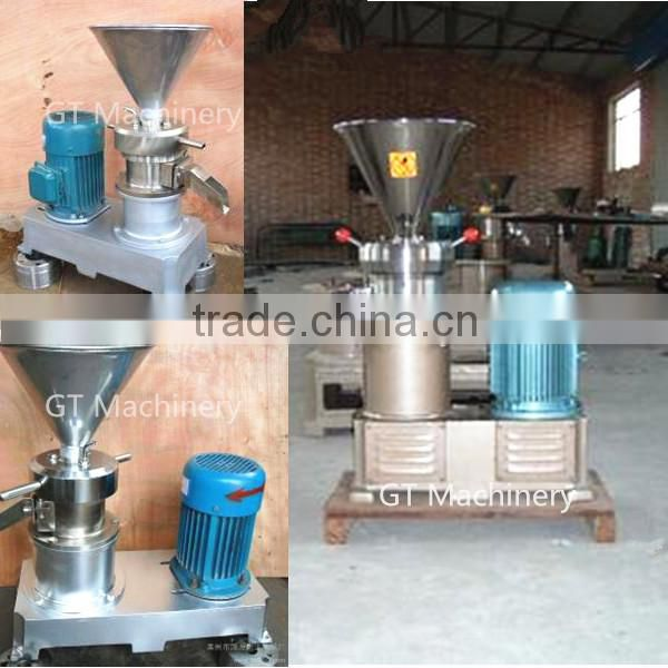 efficiency small peanut butter maker machine /high output small peanut butter maker machine