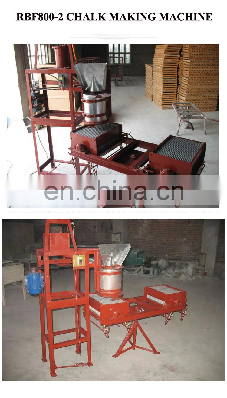 Commercial blackboard chalk making machine/white colorful chalk machine/school chalk mould