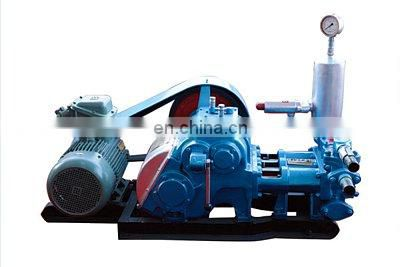 high quality water well drilling mud pump with electric motor or diesel engine driven for soft formation drilling