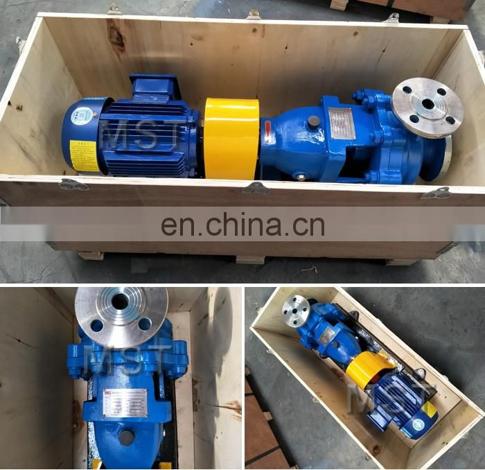 Stainless steel sulfuric acid chemical pump