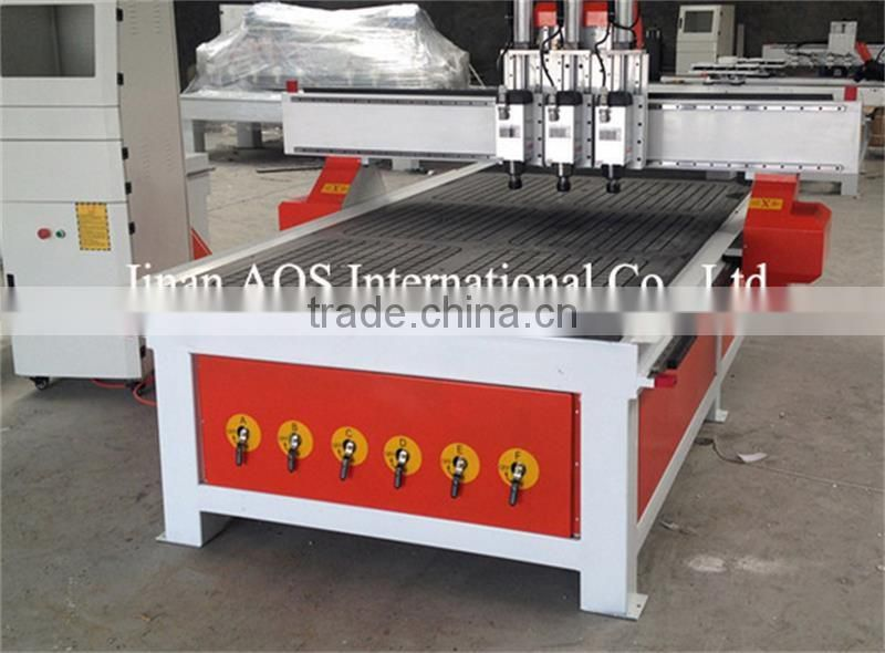 2016 New Style ATC Style CNC Woodworking Door Making Machine 1325A3 Cylinder Change Knife