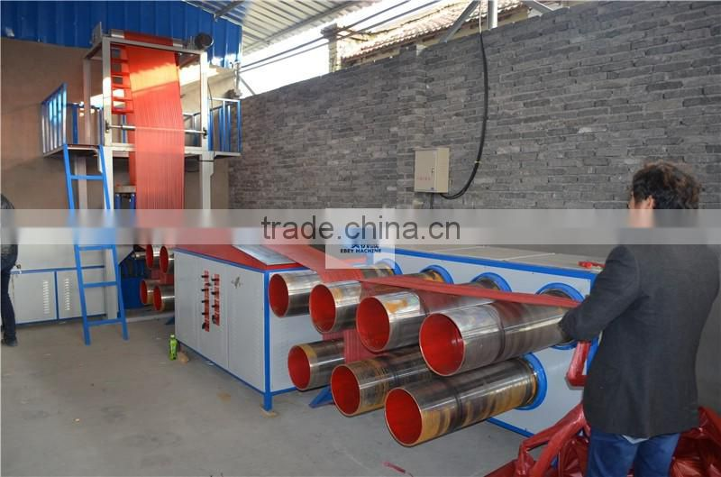 Strap Tearing Yarn Production Line Reticular Split Film Machine