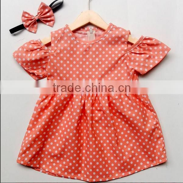 Little Girls Cotton Frock Designs Dress