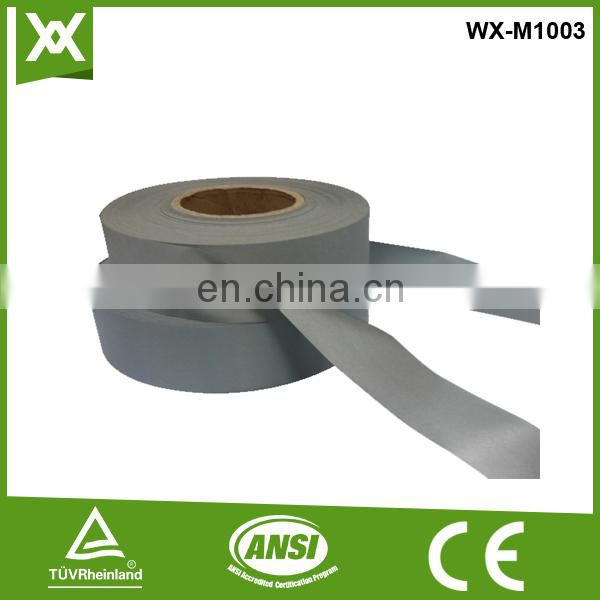 factory wholesale 3M reflective PVC tape for clothing warning tape for car