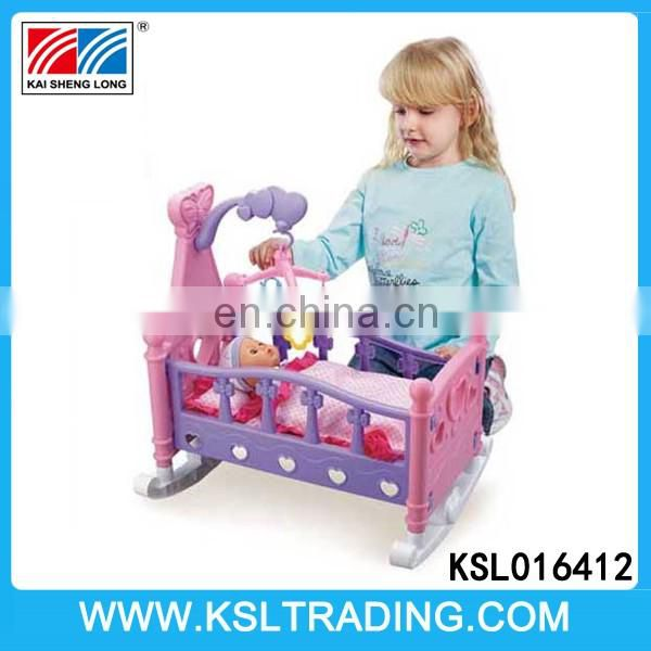 Wholesale musical baby dolls bed not included dolls for sale