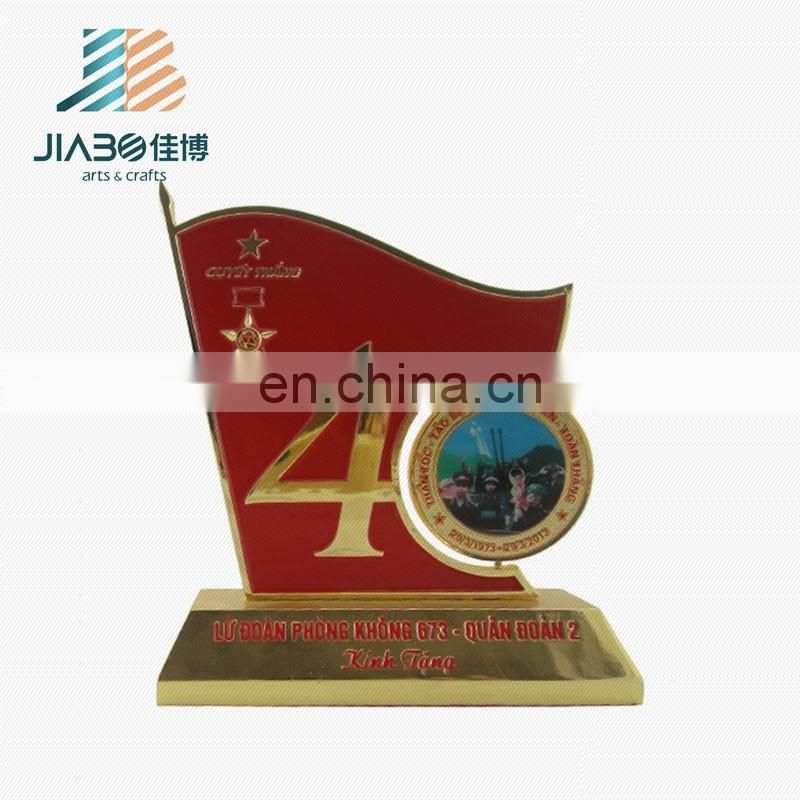 High quality custom design 40 number metal trophy cup award