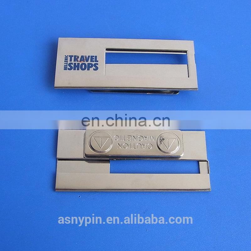 aluminum epoxy dome cheap name plate with printed logo