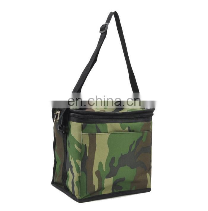 oxford camouflage cooler bag