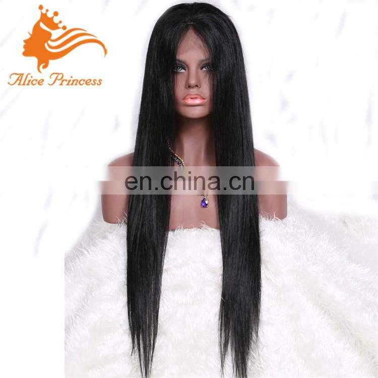 silky straight full skin base wigs brazilian human hair glueless wig silk top full lace wigs transparent lace