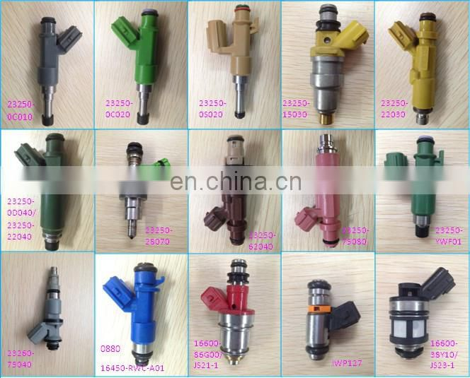 Promotion Fuel Nozzle Injector For Korean Car Injector Nozzle 16300-BA1-00