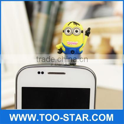 Despicable Me 2 Minion Anti Dust Plug