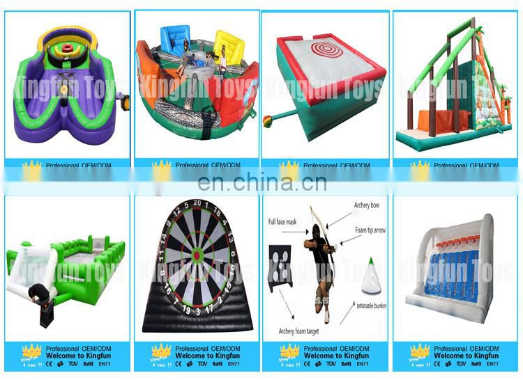 Outdoor inflatable zoo park obstacle course for entertainment