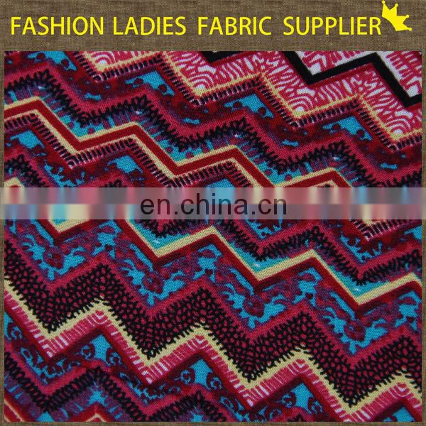 Rayon challis print fabric,rayon woven fabric,stretch polyester rayon blend fabric