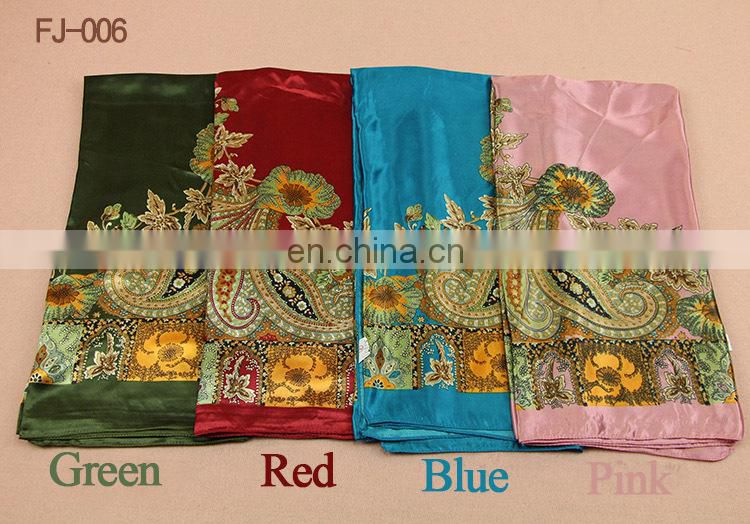 New floral 100% Silk Scarf Square Women's Bandana Neck Dress Shawl Wraps Bandana
